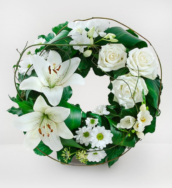 Floral Wreath for Funerals