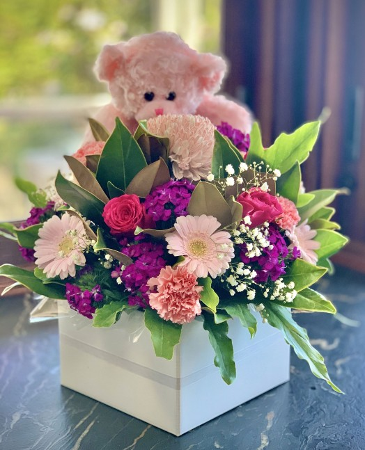 Baby girl flower delivery
