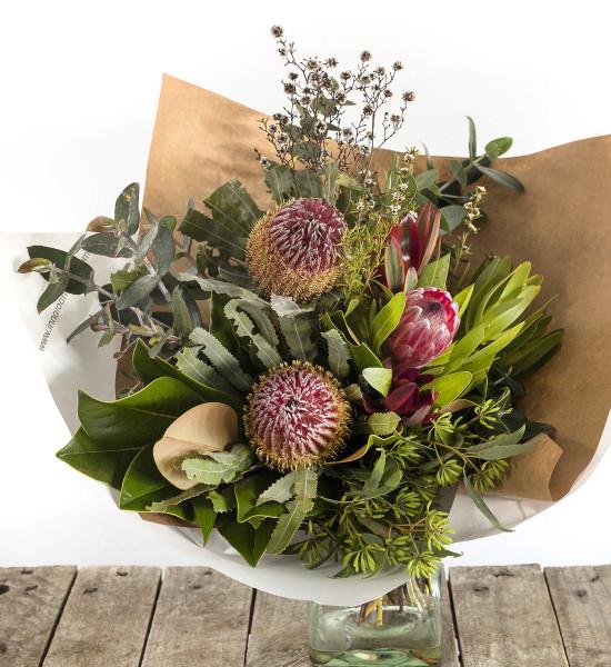 Boho style flowers