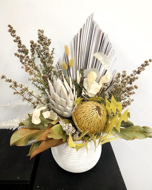 Preserved Wildflowers in Vase