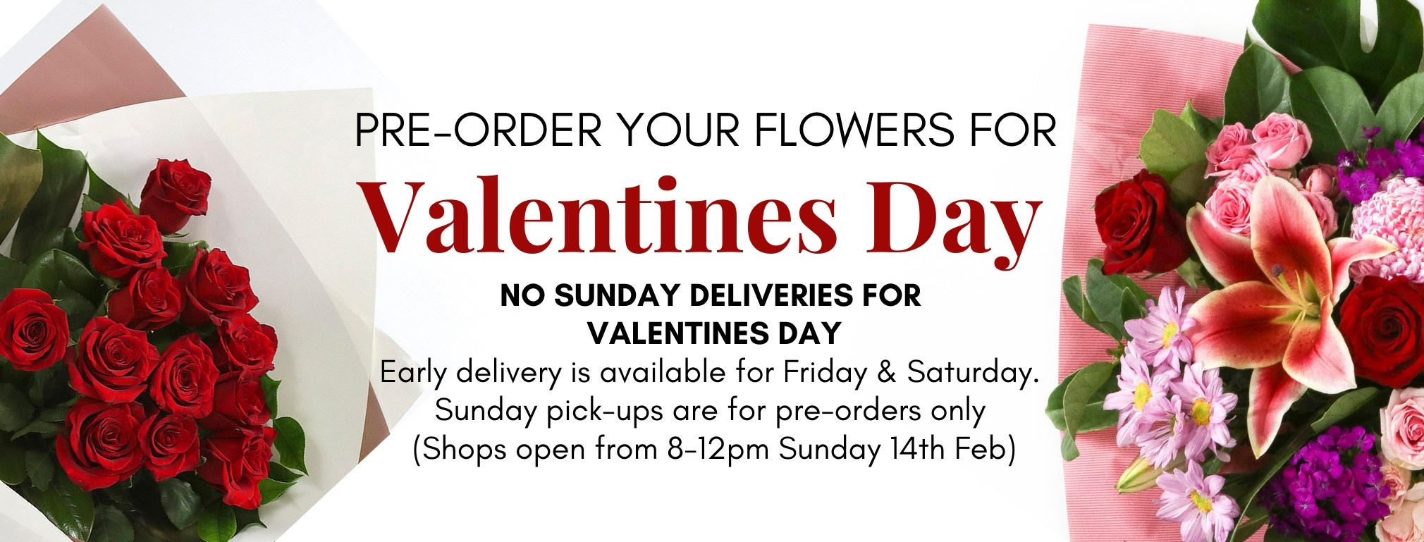 Order Flowers Valentines day