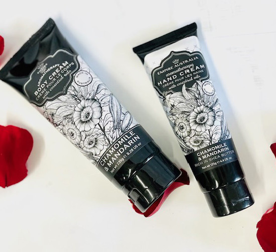 hand and body cream gift