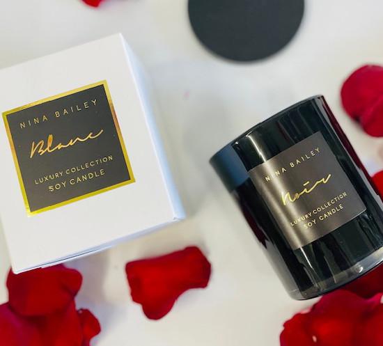 Nina Bailey luxury soy candle gift delivered